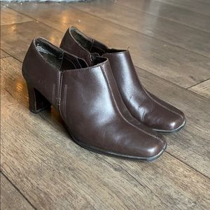 Exit LA Leather Ankle Booties